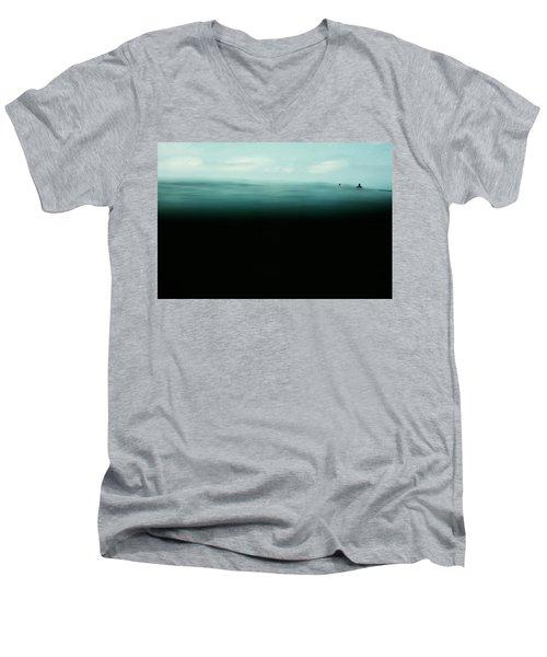 Emerald Men's V-Neck T-Shirt