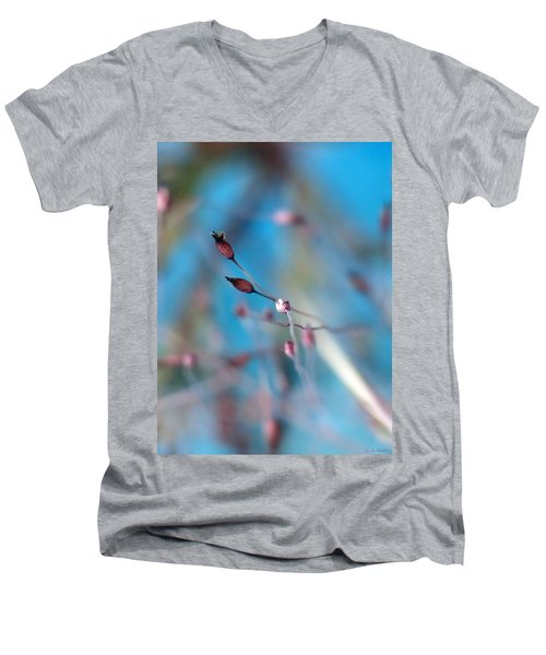 Emerge Men's V-Neck T-Shirt by Lauren Radke