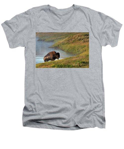 Emergence  Men's V-Neck T-Shirt