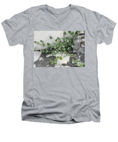 Emergence Men's V-Neck T-Shirt by Kim Nelson
