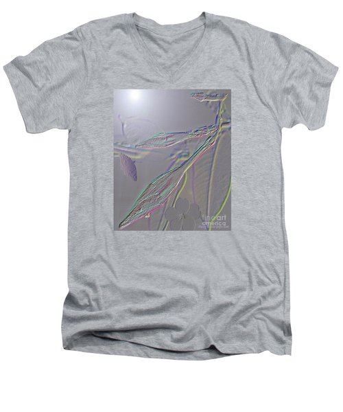 Men's V-Neck T-Shirt featuring the photograph Emergence  by Patricia Griffin Brett