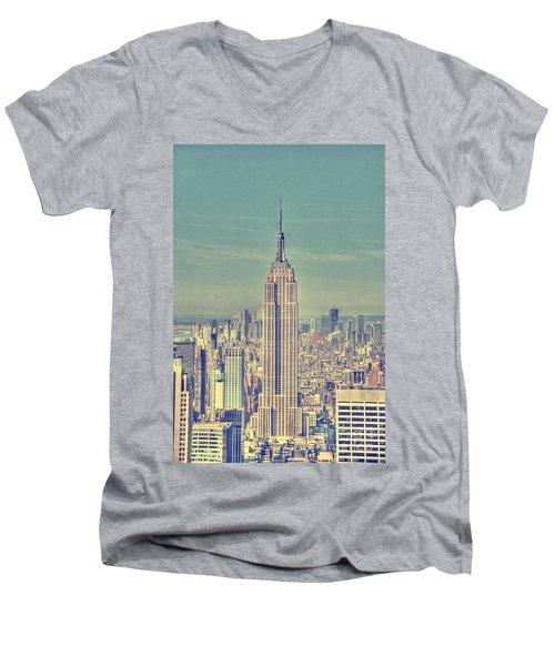 Empire State Men's V-Neck T-Shirt