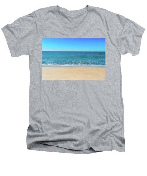 Empty Beach Men's V-Neck T-Shirt