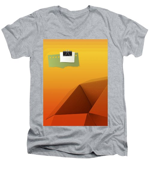 Outside Empty Box Men's V-Neck T-Shirt