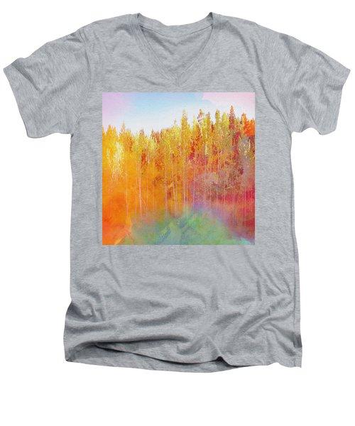 Enchanted Scenery #3 Men's V-Neck T-Shirt