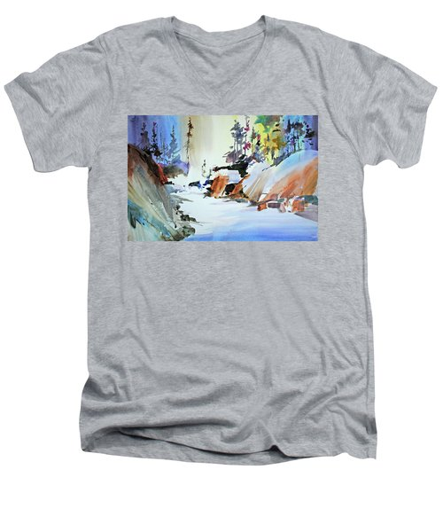 Enchanted Wilderness Men's V-Neck T-Shirt