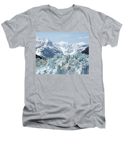 Glaciers End Of A Journey Men's V-Neck T-Shirt