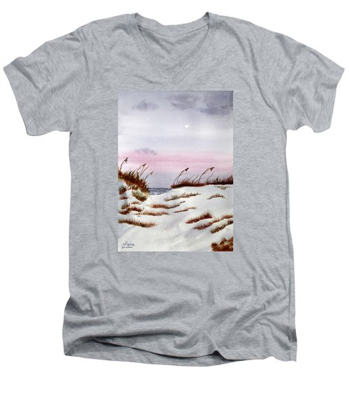 End Of A Perfect Day Men's V-Neck T-Shirt
