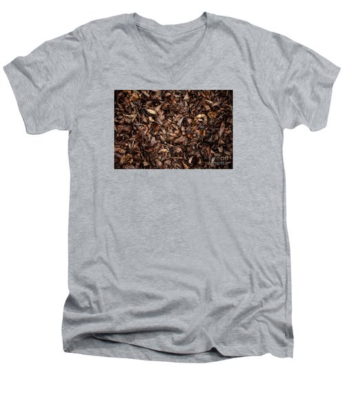 End Of A Season Men's V-Neck T-Shirt by Serene Maisey