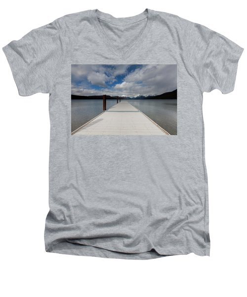 End Of The Dock Men's V-Neck T-Shirt
