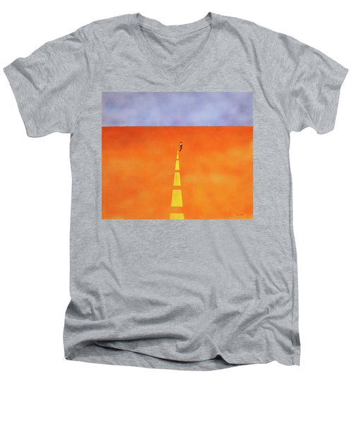 End Of The Line Men's V-Neck T-Shirt
