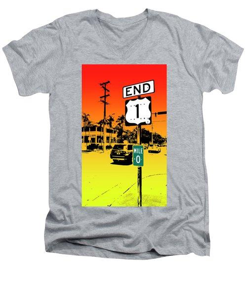End Of The Road Men's V-Neck T-Shirt