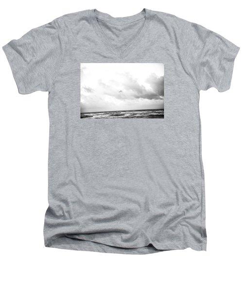 End Of The Season Padre 14 Men's V-Neck T-Shirt