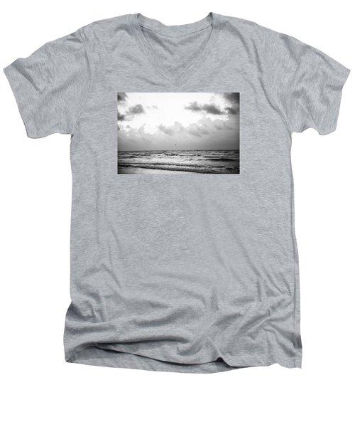 End Of The Season Padre 16 Men's V-Neck T-Shirt