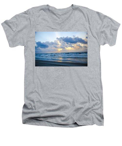 End Of The Season Padre 22 Men's V-Neck T-Shirt