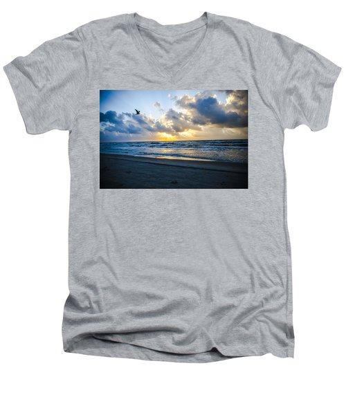 End Of The Season Padre 24 Men's V-Neck T-Shirt