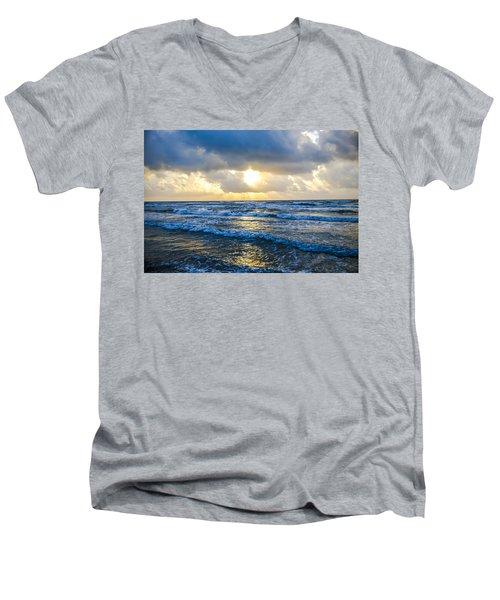 End Of The Season Padre 36 Men's V-Neck T-Shirt