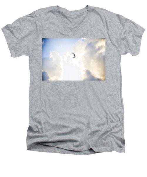 End Of The Season Padre 43 Men's V-Neck T-Shirt