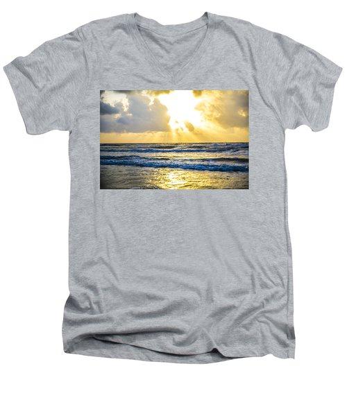 End Of The Season Padre 49 Men's V-Neck T-Shirt