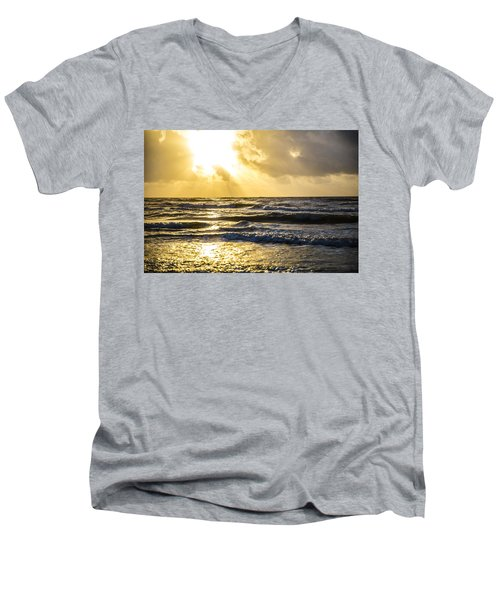 End Of The Season Padre 53 Men's V-Neck T-Shirt