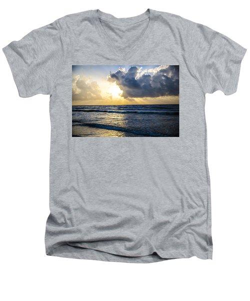 End Of The Season Padre 60 Men's V-Neck T-Shirt