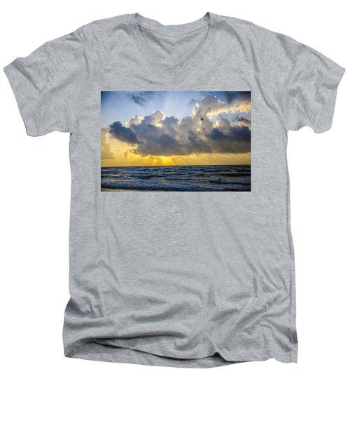 End Of The Season Padre 61 Men's V-Neck T-Shirt