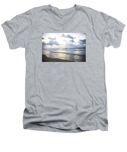 End Of The Season Padre 7 Men's V-Neck T-Shirt
