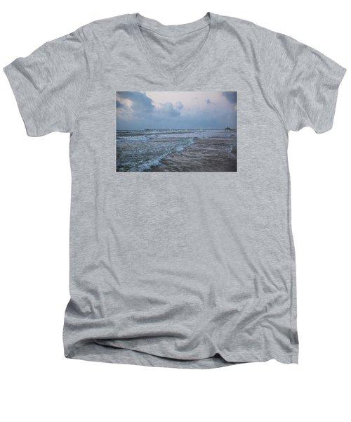 End Of The Season Padre 8 Men's V-Neck T-Shirt