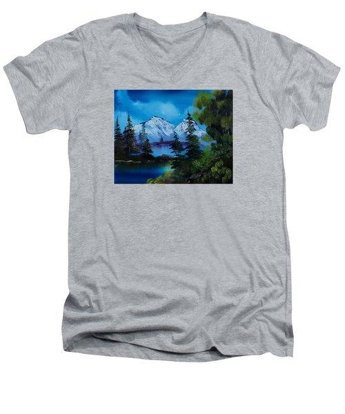End Of Winter Men's V-Neck T-Shirt