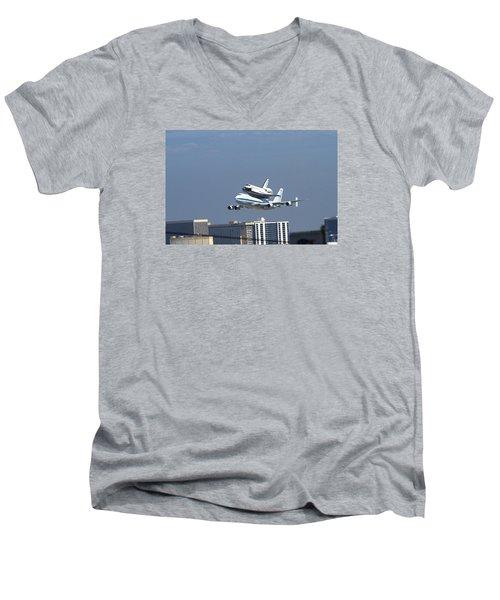 Endeavous Final Flight Lax Men's V-Neck T-Shirt
