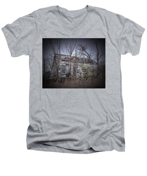 Ending Light Men's V-Neck T-Shirt