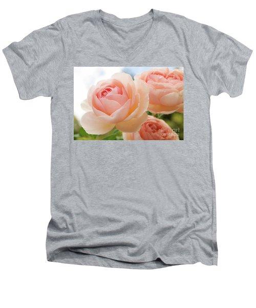 Endless Summer 3 Men's V-Neck T-Shirt by Victor K