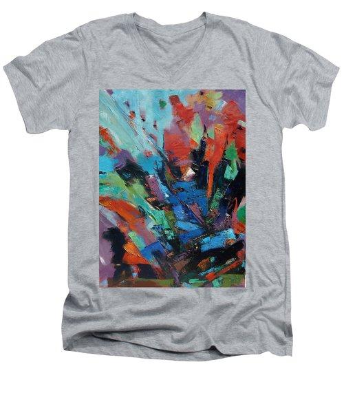 Energy Release Men's V-Neck T-Shirt