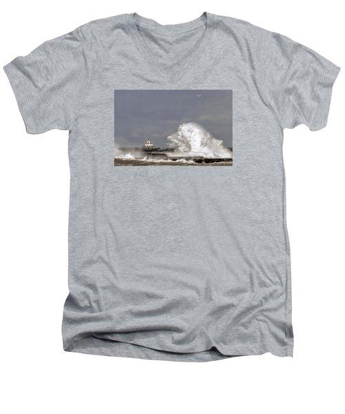 Energy Released Men's V-Neck T-Shirt