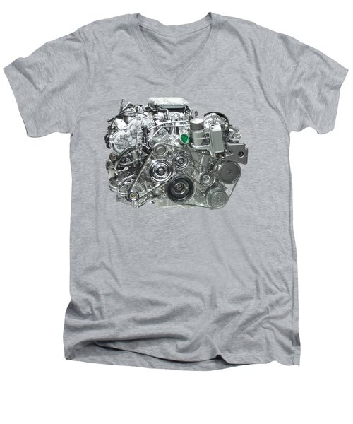 Engine Men's V-Neck T-Shirt