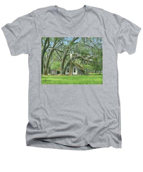 English Eddie Oaks  Men's V-Neck T-Shirt