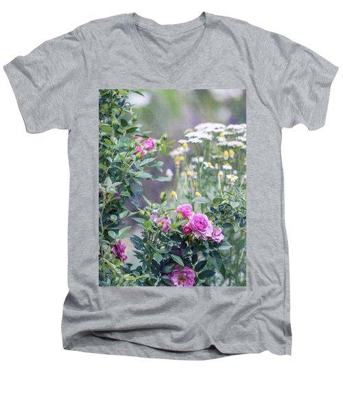 English Garden Men's V-Neck T-Shirt