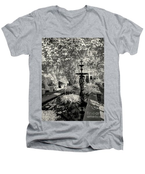 Enid A. Haupt Conservatory Men's V-Neck T-Shirt