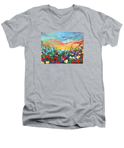 Enjoy It Men's V-Neck T-Shirt