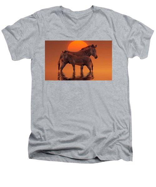 Enjoy Life Men's V-Neck T-Shirt