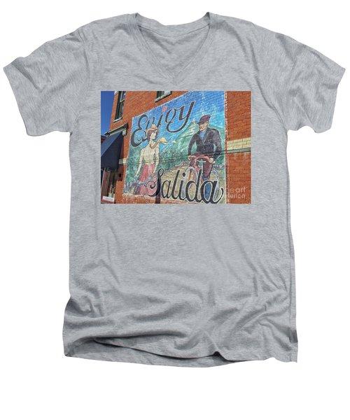 Enjoy Salida Men's V-Neck T-Shirt