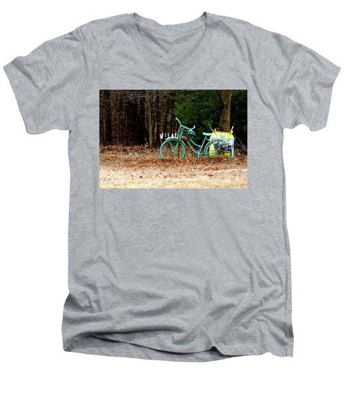 Enjoy The Adventure Men's V-Neck T-Shirt