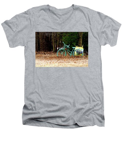 Enjoy The Adventure Men's V-Neck T-Shirt