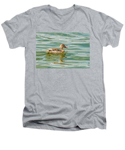 Enjoying Men's V-Neck T-Shirt