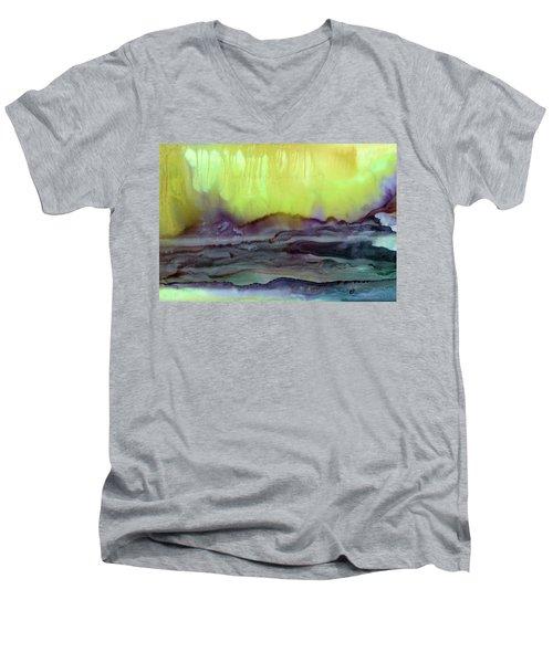 Enlighten The Captious Minds Men's V-Neck T-Shirt
