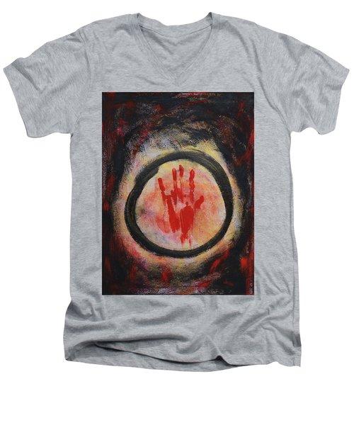 Enso - Confine Men's V-Neck T-Shirt