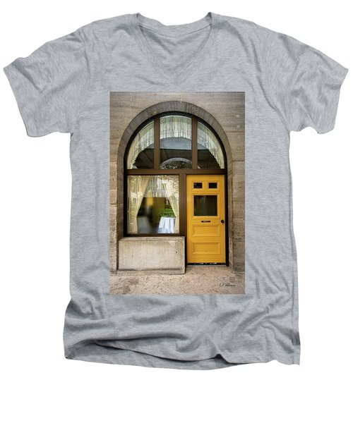 Entry Geometrics Men's V-Neck T-Shirt
