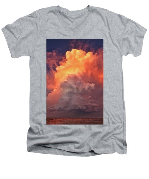 Epic Storm Clouds Men's V-Neck T-Shirt