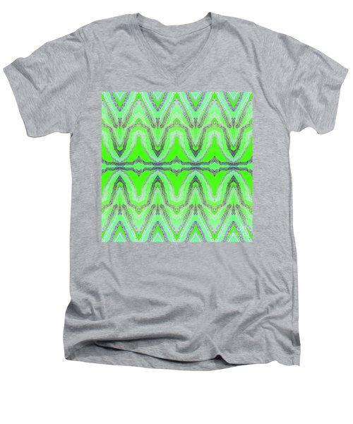 Equilibrium  Men's V-Neck T-Shirt by Rachel Hannah