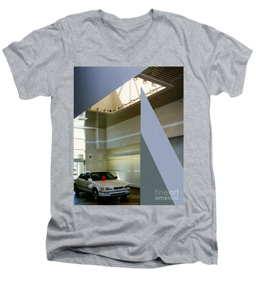 Ertley Automall5 Men's V-Neck T-Shirt by Andrew Drozdowicz